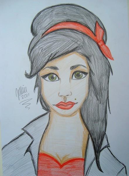 Amy Winehouse by Idasophia
